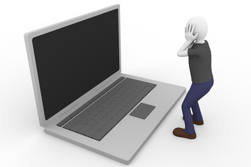 Desperate laptop