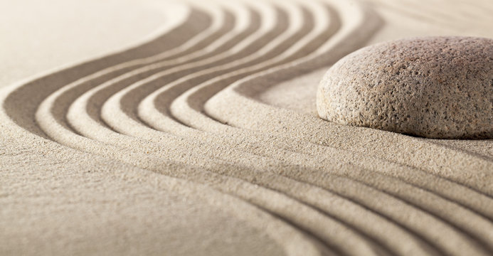 zen concept for ayurveda massage