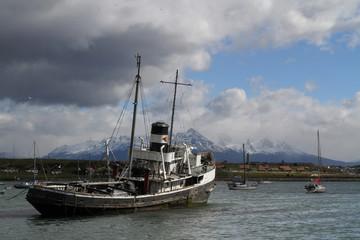 Remorqueur à Ushuaia