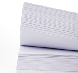 Paper Stack with path