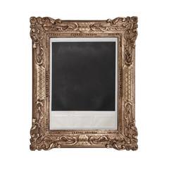 cornice polaroid in fondo bianco