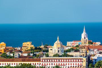 Fototapete - Cartagena Old Town