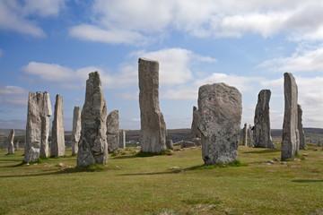 Callanish standing stones . Isle of Lewis, Scotland.