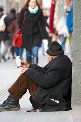 Bettler - Homeless