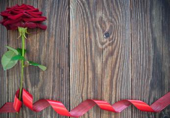 Red rose border background