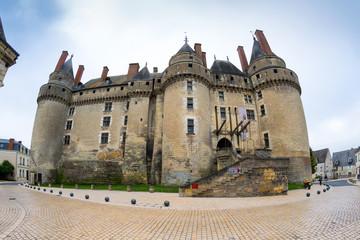 Fototapete - The Chateau de Langeais, France