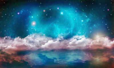 Canvas Prints Imagination Space World