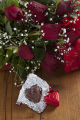 two chocolate (valentine's day)