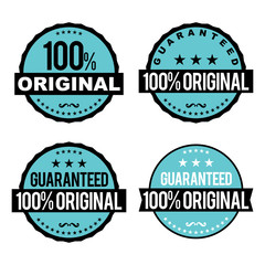 Original Guarantee Badges