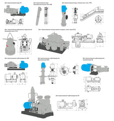 pumps for water and oil