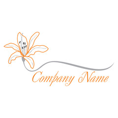 lily flower logo