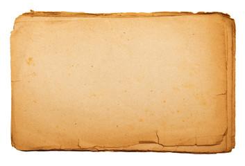 pagine antiche strappate vintage