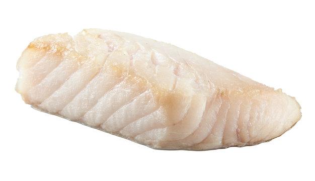 Prepared pangasius fish fillet pieces