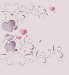Liebesgruß mit Ornament