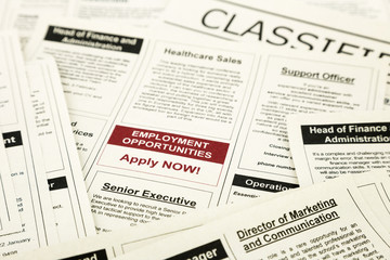 job opportunity classifieds ads, apply now