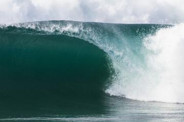 Ocean Wave Crashing Hollow