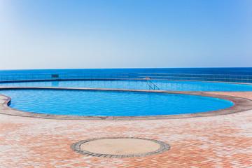Swimming Pools Beach Blue Ocean