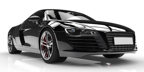 Papiers peints Cartoon voitures black car