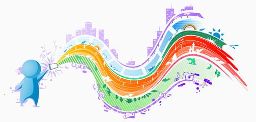 Gadget People, Color Streams