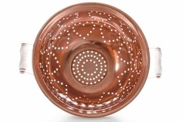 Backlit Copper Colander, Inside