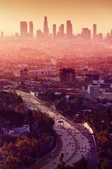 Wall Mural - Los Angeles - California City Skyline