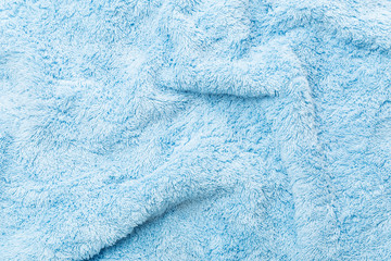 Blue Fabric towel Texture