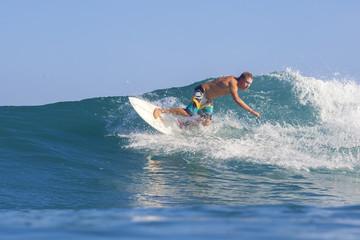 Surfing a wave