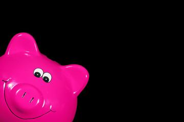 Sparschweinchen rosa