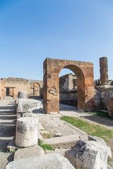 Brick Arch in Pompeii