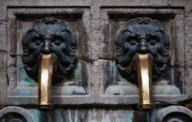 Antique water pump detail