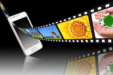 Pellicola films e smartphone