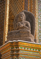 Buddha Statue in Wat Phra Kaeo - Bangkok