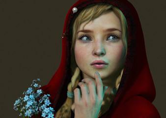 Little Red Riding Hood 3d CG