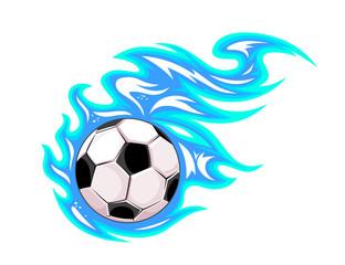 Championship soccer ball or football