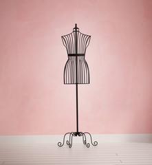 Vintage mannequin female dress form
