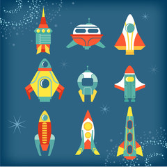 set of rocket