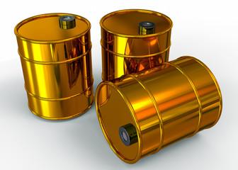 Fuel Barrel - 3D