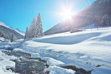 Dischmatal bei Davos - Schweiz
