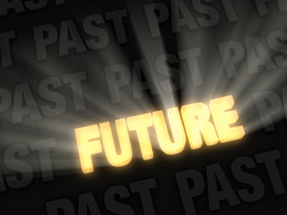 Bright Future Versus Dark Past