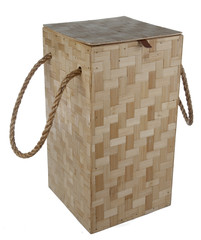 Wooden shingle box