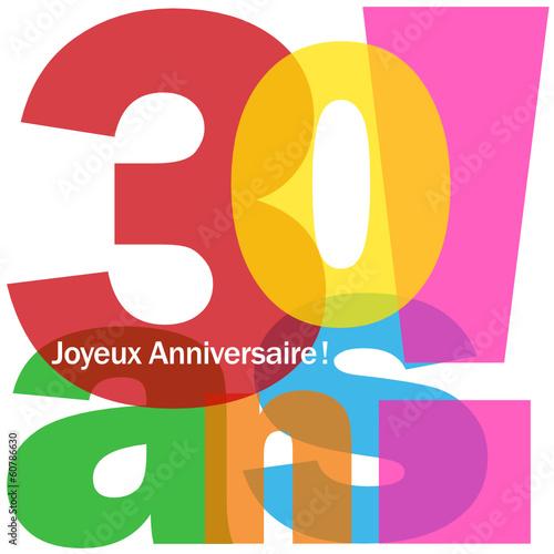 clipart gratuit anniversaire 30 ans - photo #2