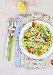 cabbage and  green pea salad