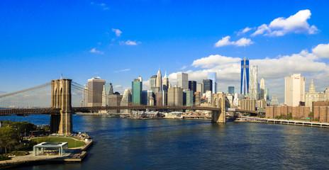 Brooklyn Bridge NYC Panorama