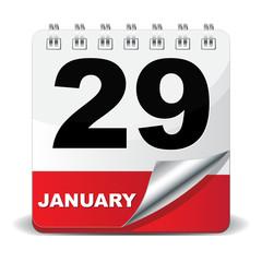 29 JANUARY ICON