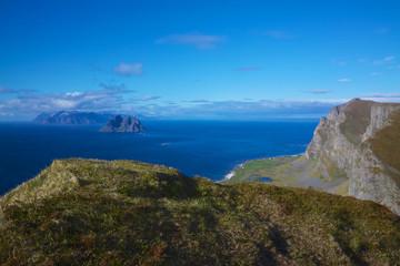 Cliffs on Lofoten