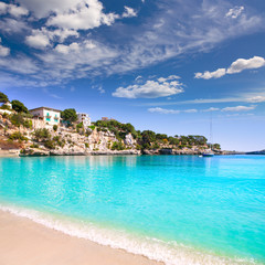 Wall Mural - Porto Cristo beach in Manacor Majorca Mallorca