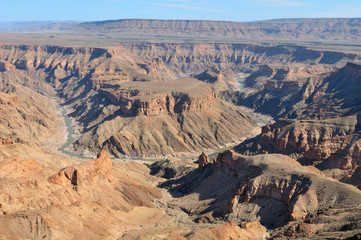 Fish River Canyon at Hobas, Namibia