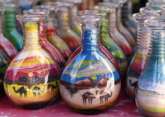 Sand Art Souvenirs, Jordan