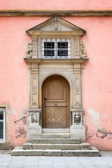 Old Door Rothenburg ob der Tauber