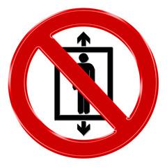 Verbotszeichen - Personenbeförderung verboten